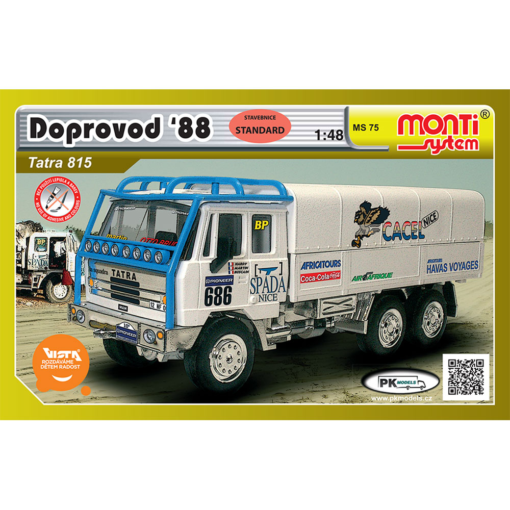 MS 75 Dakar doprovod