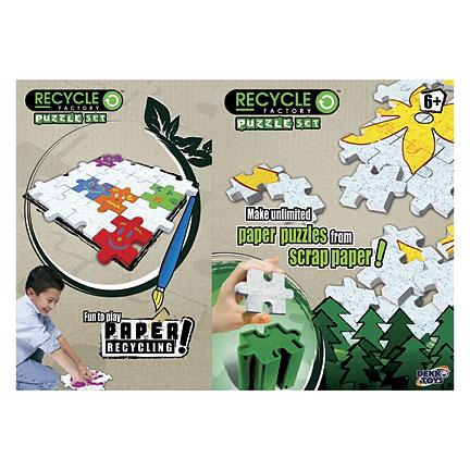 Recycle Factory Puzzle
