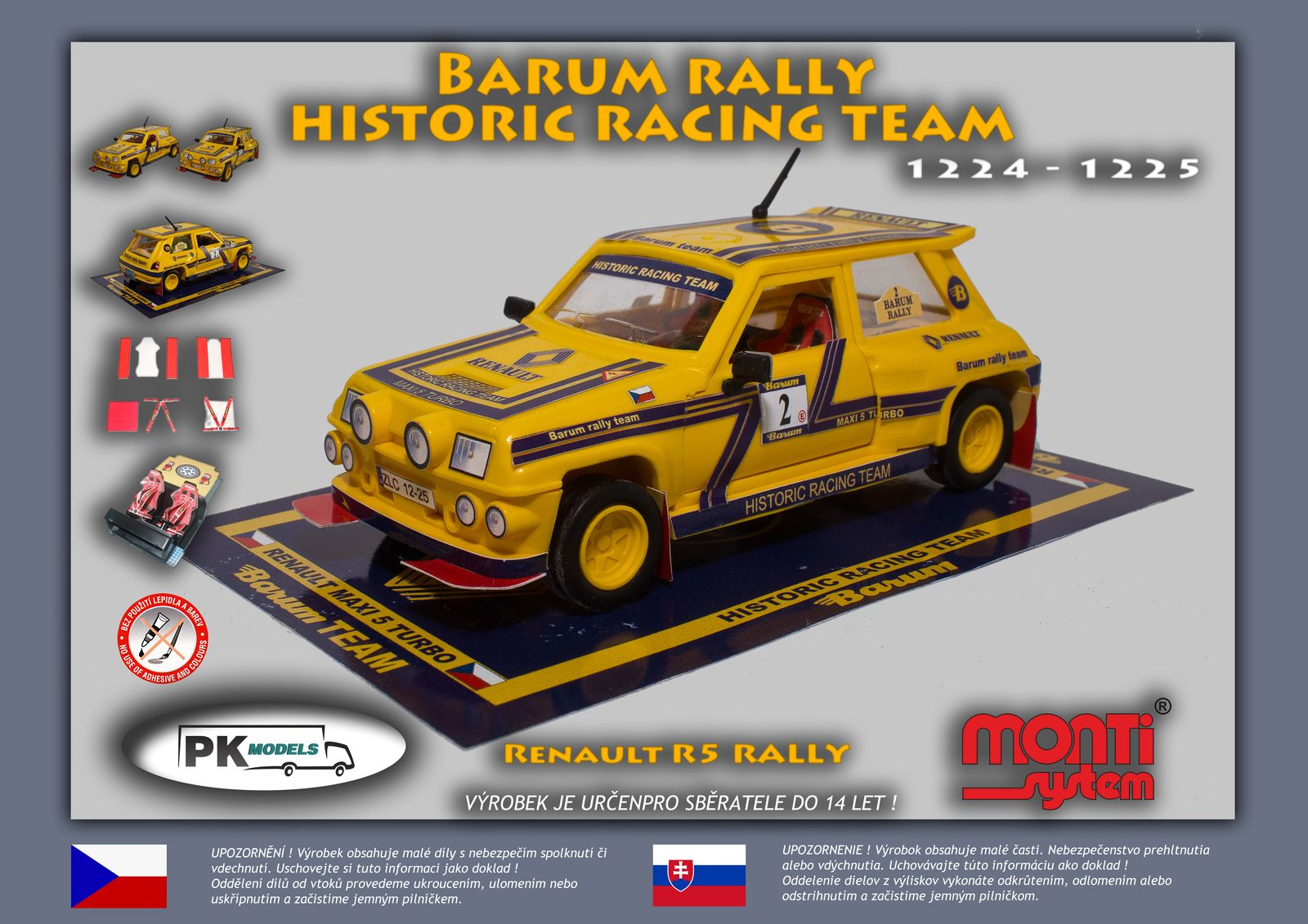 MS Renault R5 rally Barum rally historic